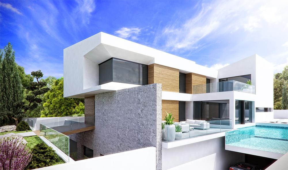 Arquitectura en Benidorm Marva10 Vivienda Lujo Unifamiliar