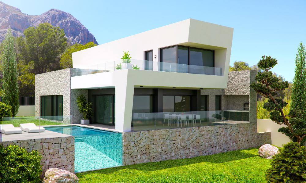 Vivienda en Polop de la Marina Marva10 Arquitecto Alicante