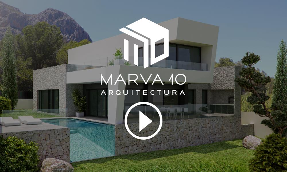 Viviendas en Polop de la Marina Marva 10 Arquitectura Alicante