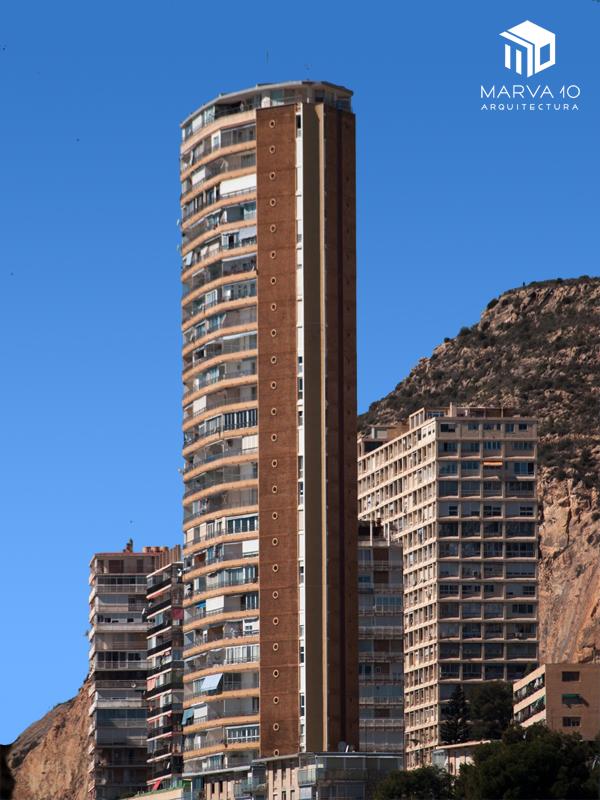 rascacielos alicante torre vistamar