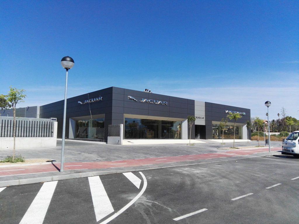 Proyecto de Concesionario Jaguar - Land Rover en Alicante Mundicar