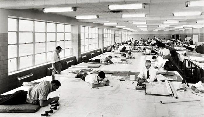 La vida antes de Autocad en Arquitectura Proyectos