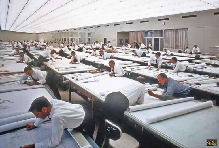 La vida antes de Autocad en Arquitectura como se hacia
