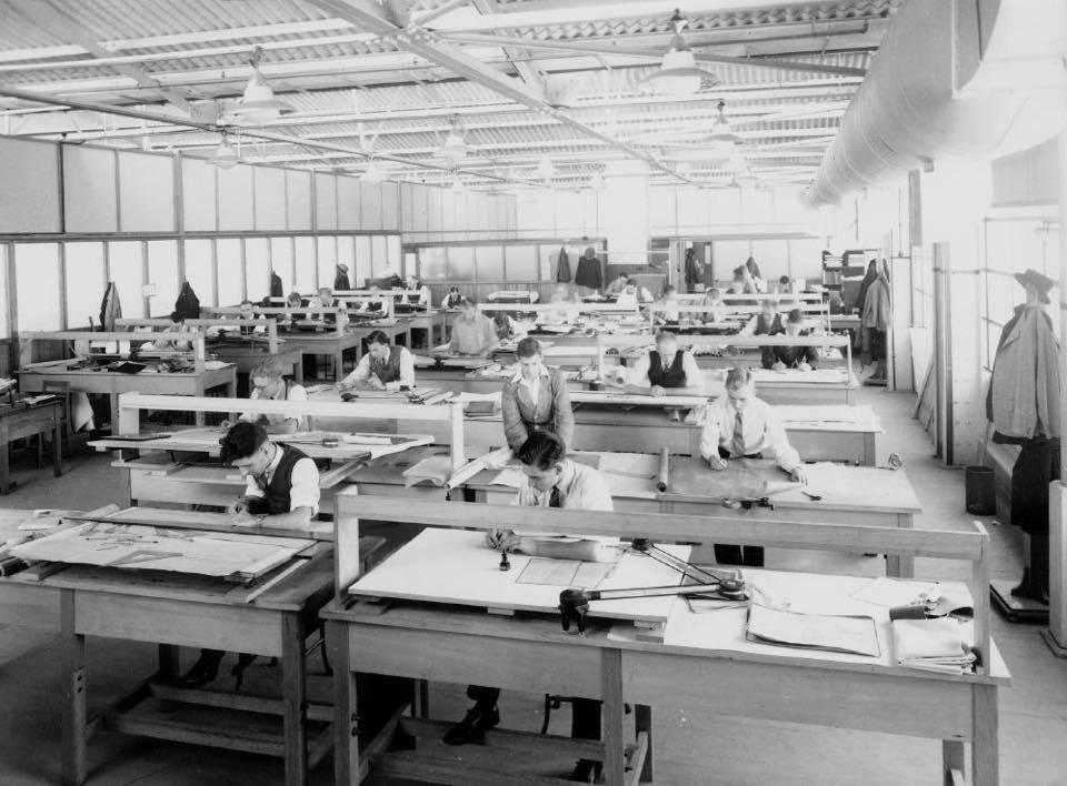 La vida antes de Autocad en Arquitectura dificil