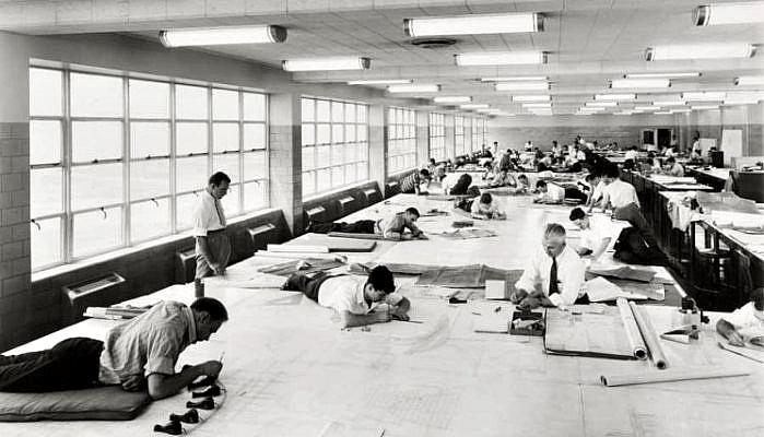 La vida antes de Autocad en Arquitectura
